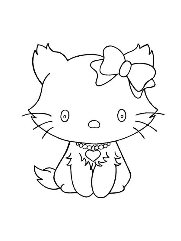 260 dessins de coloriage chat imprimer sur page 20 - Dessin a colorier un chat ...