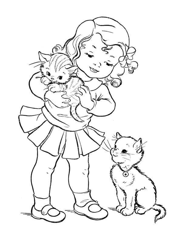 260 dessins de coloriage chat imprimer sur page 22 - Coloriage pour petite fille ...