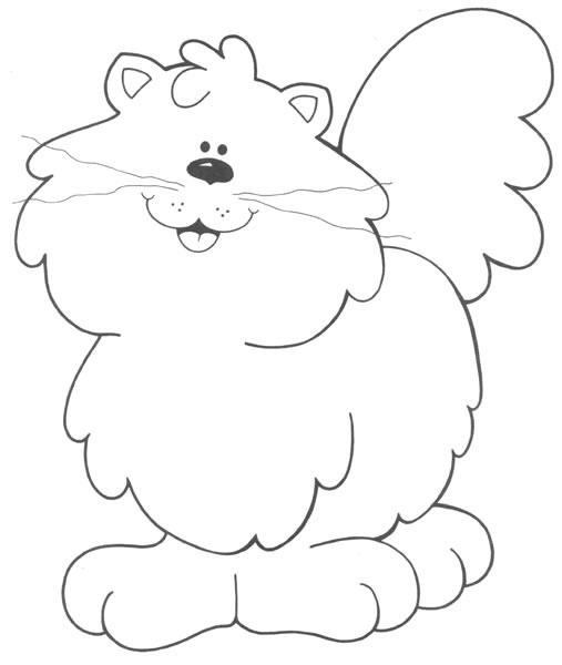 Dessin de chat gratuit a imprimer et colorier