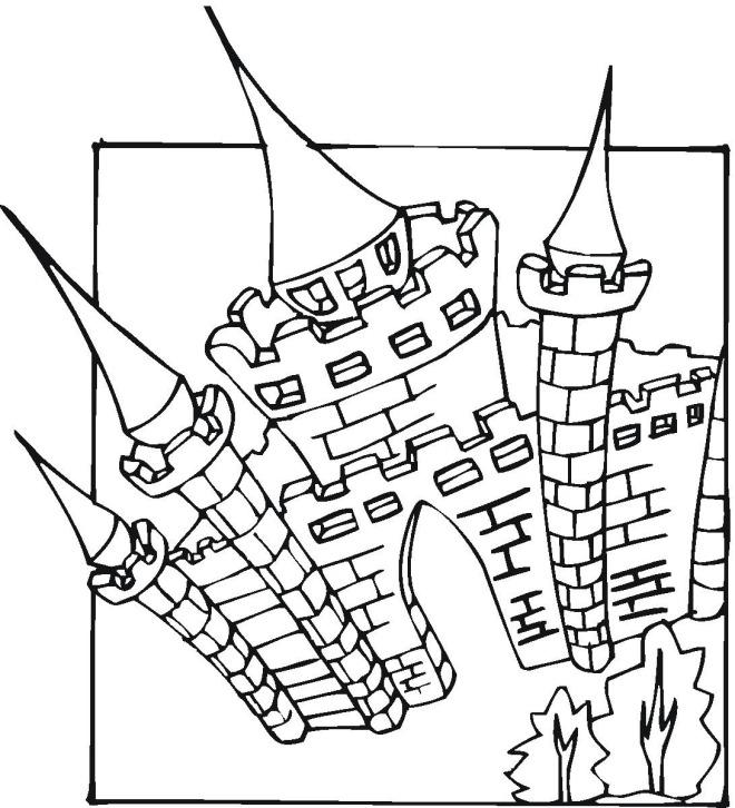 96 dessins de coloriage ch teau imprimer sur page 2 - Chateau a imprimer ...