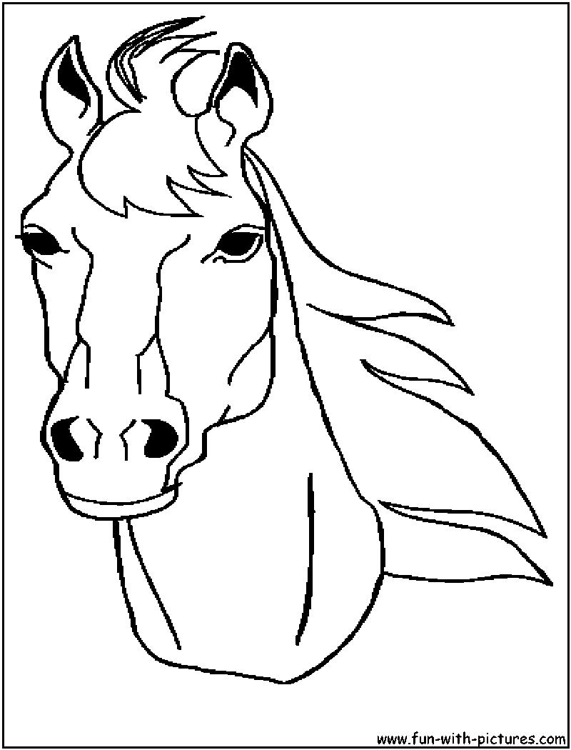 Jeux de coloriage cheval à imprimer