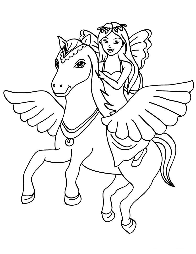 Jeux de coloriage cheval