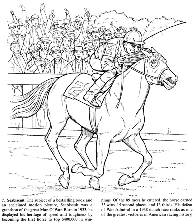 Dessin de cheval gratuit