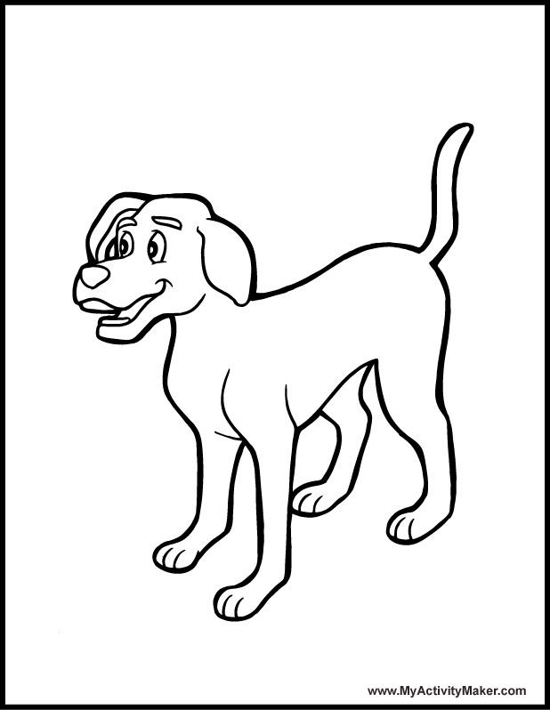 Jeux de coloriage chien
