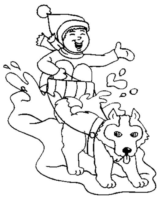 Dessin gratuit chien a imprimer et colorier