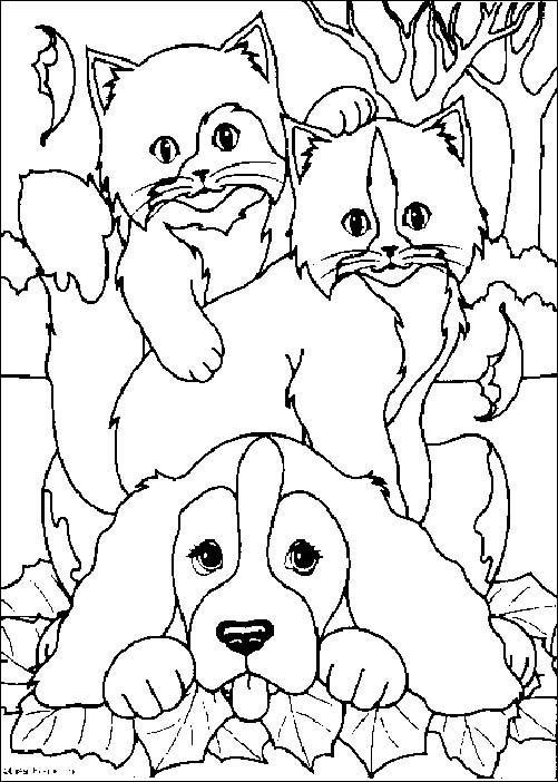 Coloriage de chien gratuit a imprimer et colorier