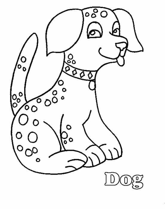 Dessin de chien imprimer et colorier