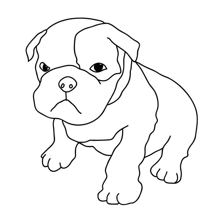 302 dessins de coloriage chien imprimer sur laguerche - Dessin tete de chien ...