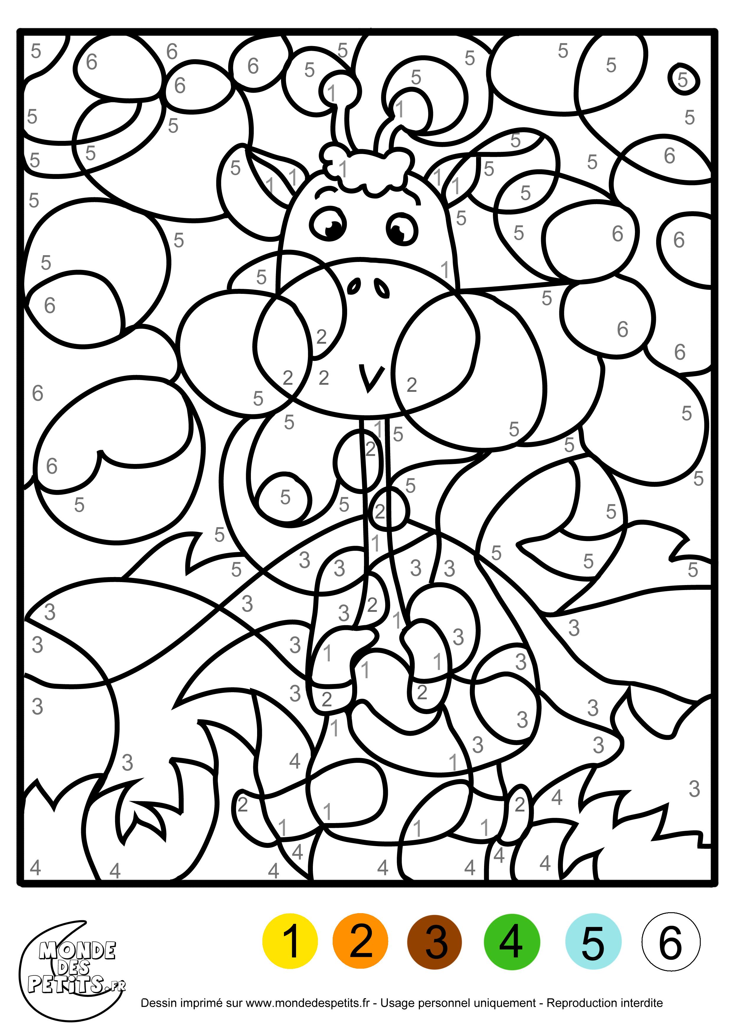 image 19383 coloriage chiffres gratuit