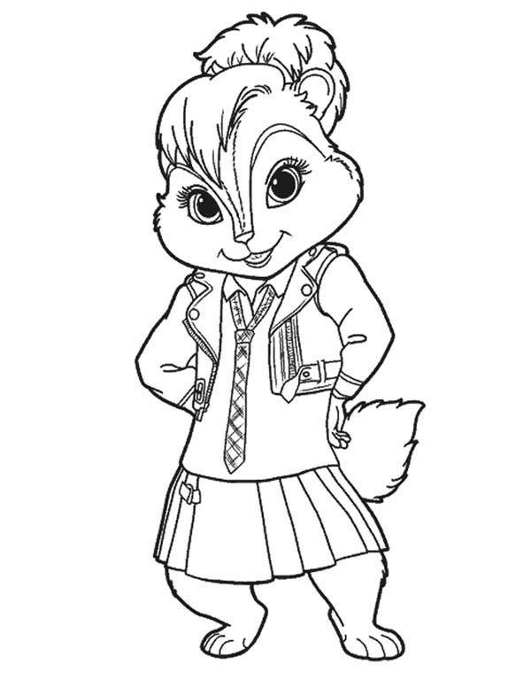 80 dessins de coloriage chipmunks imprimer sur laguerche for Chipmunks coloring pages