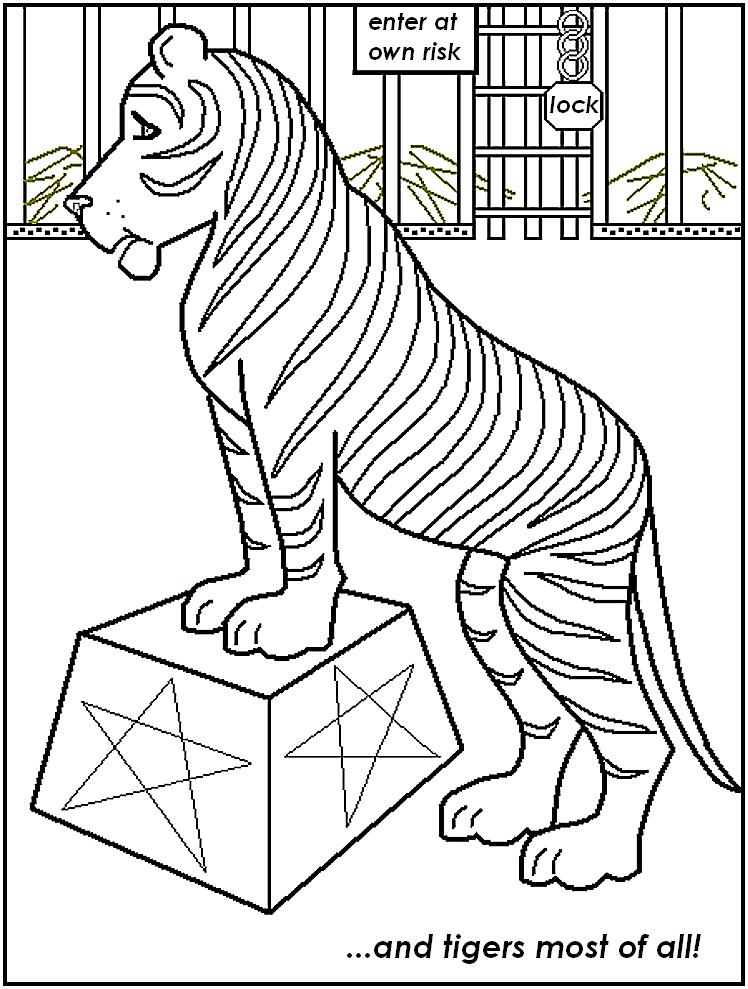 114 Dessins De Coloriage Cirque A Imprimer Sur Laguerche Com Page 2