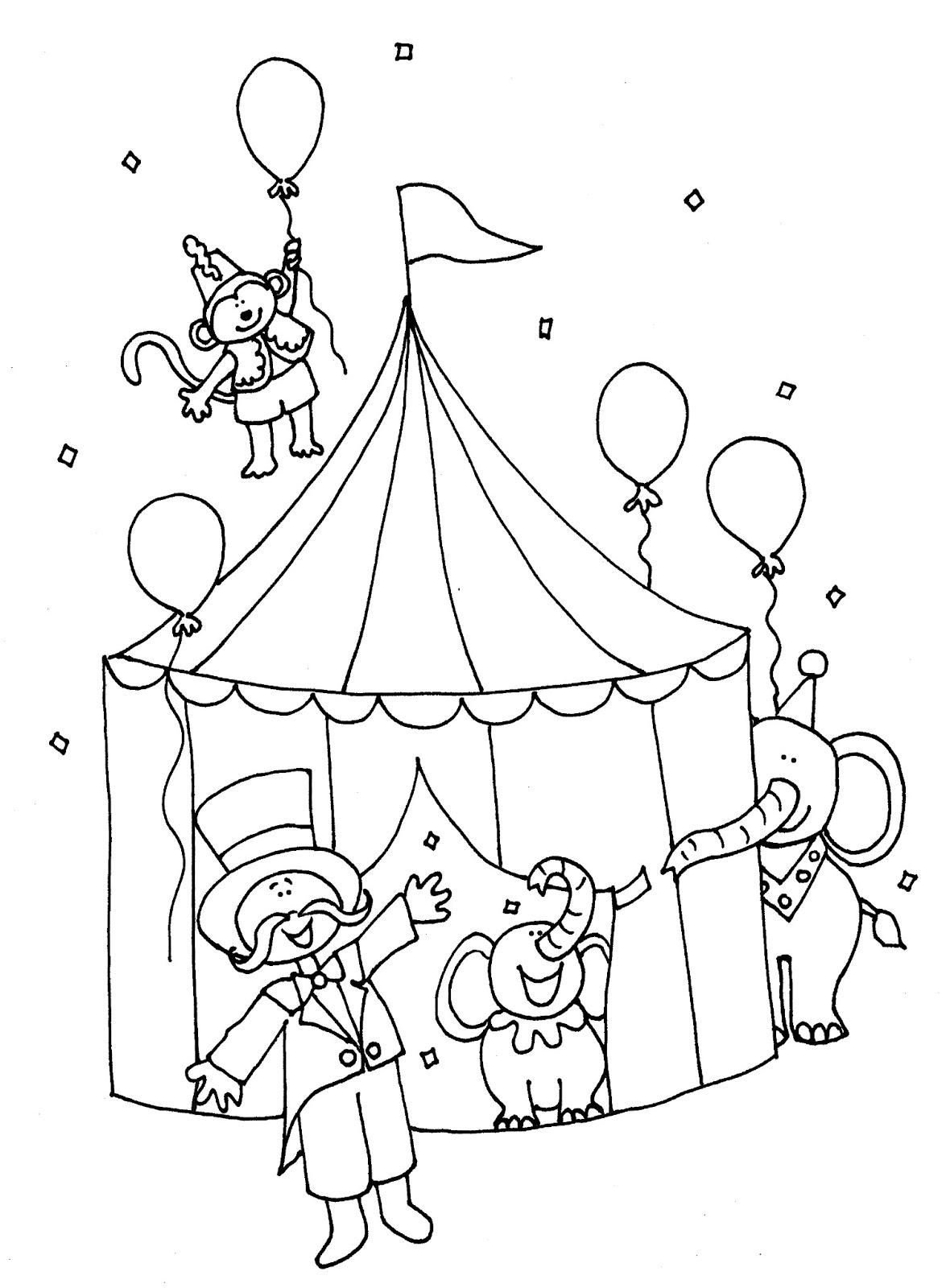 image 19486 coloriage cirque gratuit