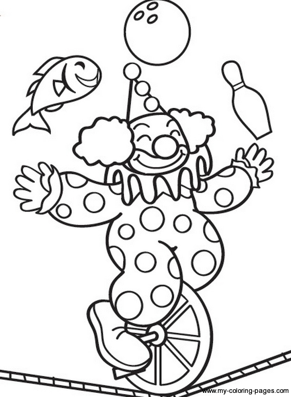 circus tent coloring pages preschool - photo#31