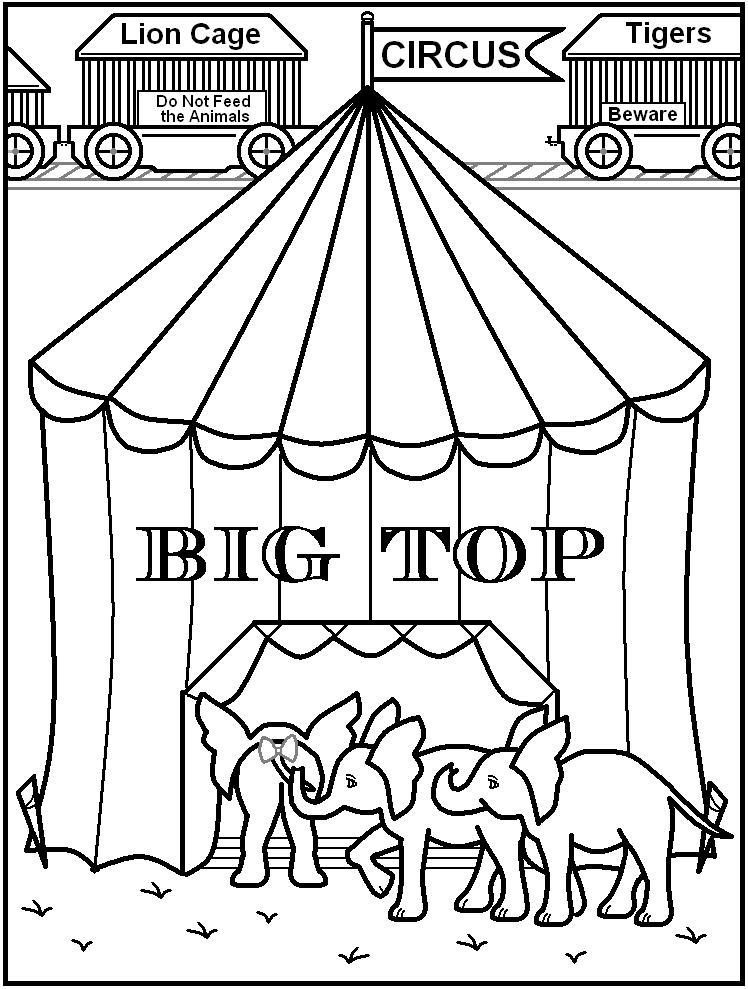 114 Dessins De Coloriage Cirque A Imprimer Sur Laguerche Com Page 11
