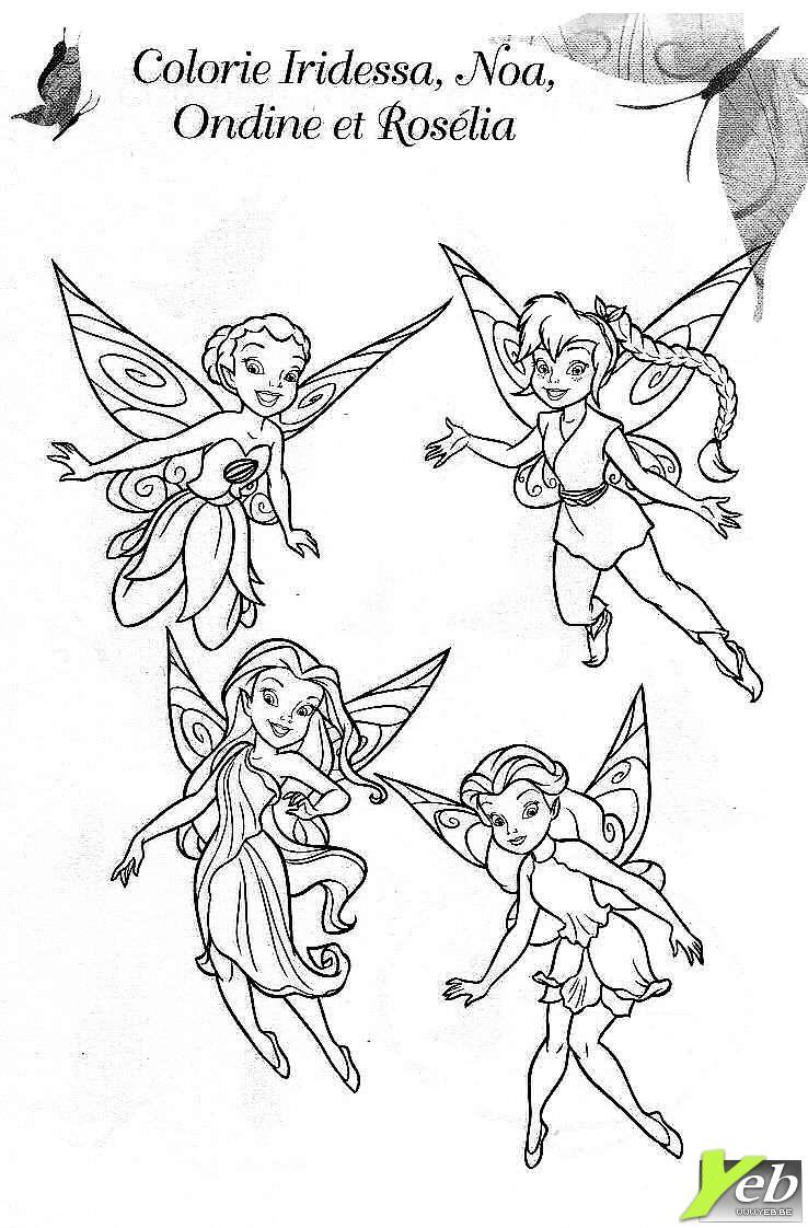 90 dessins de coloriage Clochette à imprimer sur LaGuerche.com - Page 3