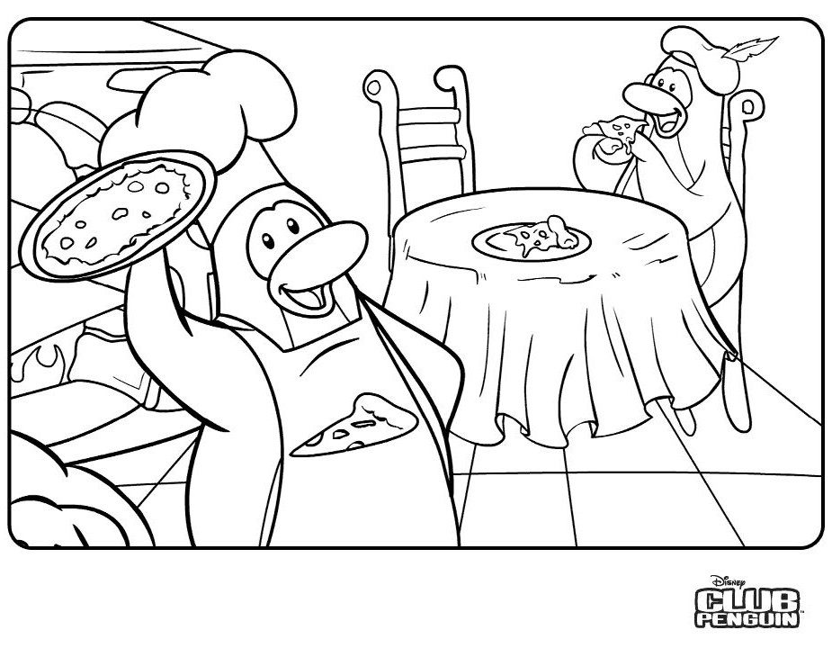 Dessin #11311 - Image de club penguin a dessiner
