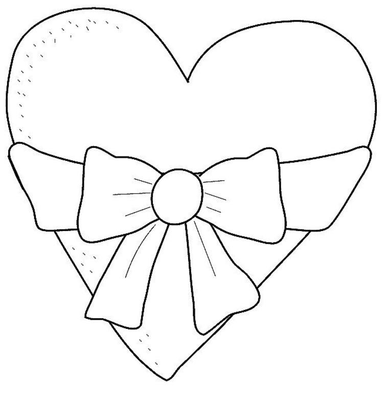 111 Dessins De Coloriage Coeur à Imprimer Sur Laguerche Com Page 1