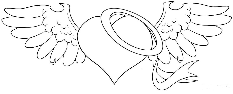 111 Dessins De Coloriage Coeur Imprimer Sur LaGuerchecom Page 3