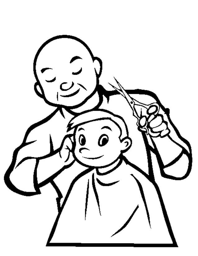 24 dessins de coloriage coiffeur u00e0 imprimer sur LaGuerche.com - Page 1