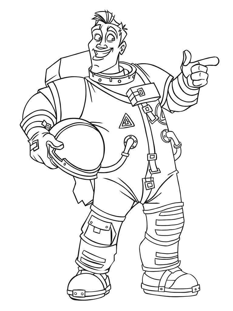 24 dessins de coloriage cosmonaute imprimer sur - Coloriage image ...