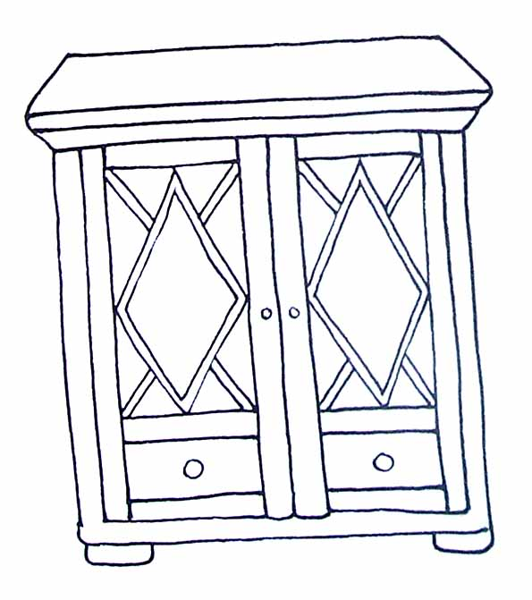 79 dessins de coloriage cuisine imprimer sur page 3. Black Bedroom Furniture Sets. Home Design Ideas