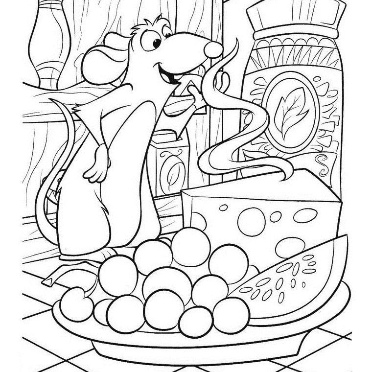 79 dessins de coloriage cuisine imprimer sur page 7. Black Bedroom Furniture Sets. Home Design Ideas