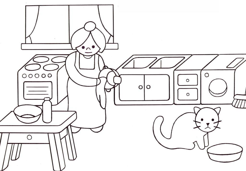 S Lection De Dessins De Coloriage Cuisinier Imprimer Sur