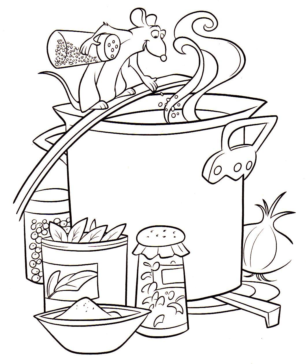 s lection de dessins de coloriage cuisinier imprimer sur page 5. Black Bedroom Furniture Sets. Home Design Ideas