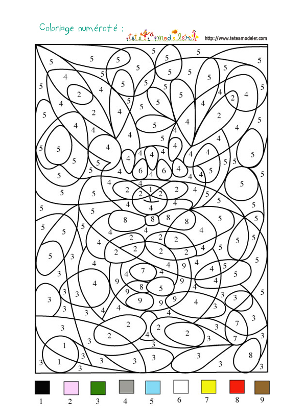 Coloriage A Imprimer Numero.39 Dessins De Coloriage Dessin A Numero A Imprimer Sur Laguerche Com