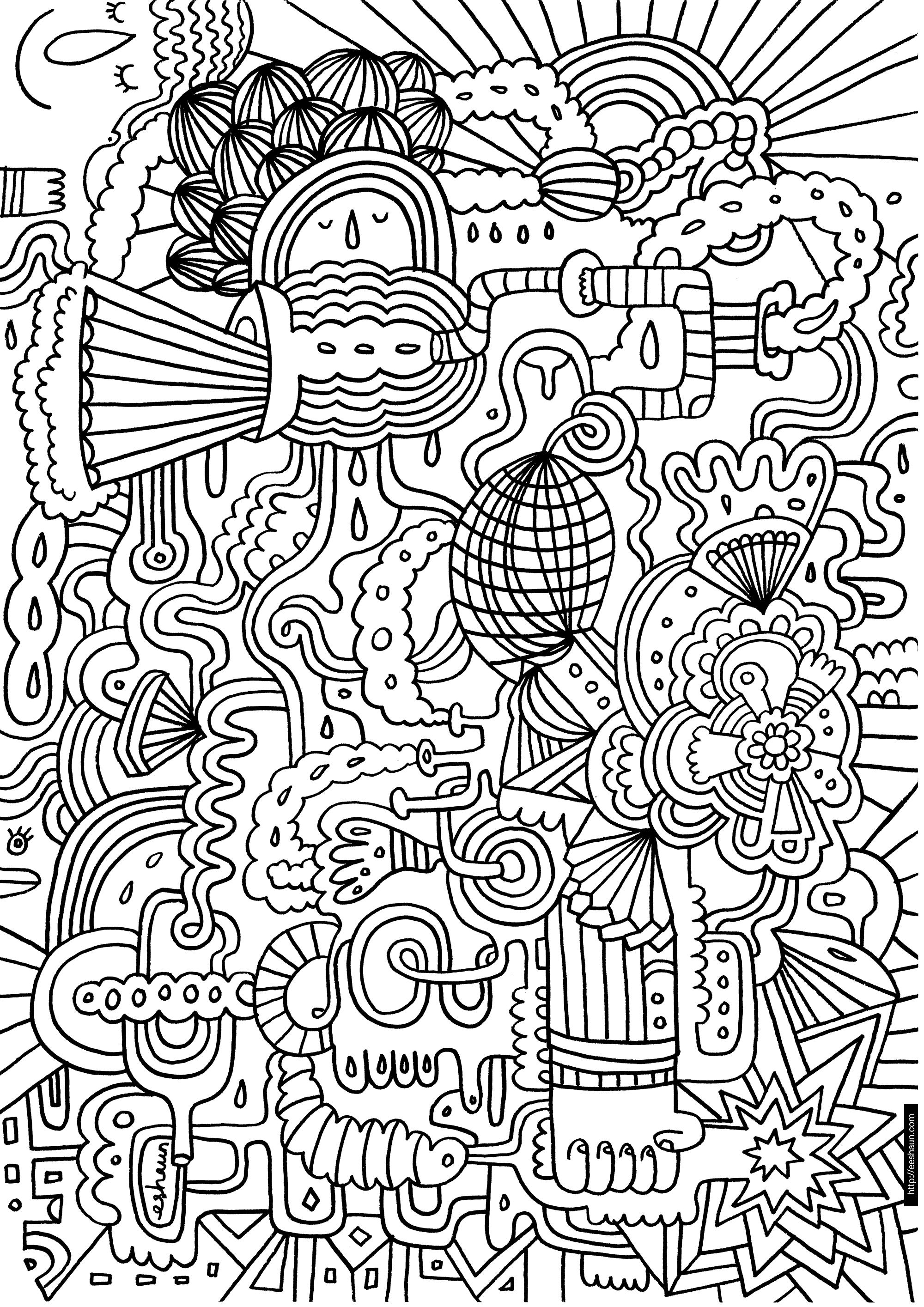 59 Dessins De Coloriage Difficile A Imprimer Sur Laguerche Com Page 4