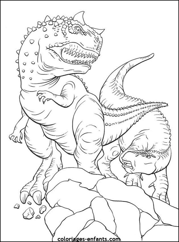 204 dessins de coloriage dinosaure imprimer sur - Coloriage de dinosaures ...