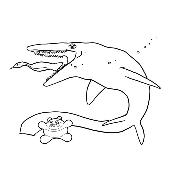 204 dessins de coloriage dinosaure imprimer sur page 6 - Dessin de dinosaure a imprimer ...
