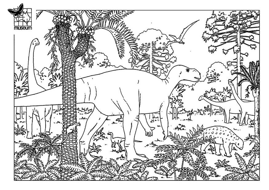 204 dessins de coloriage dinosaure imprimer sur page 9 - Dessin de dinosaure a imprimer ...