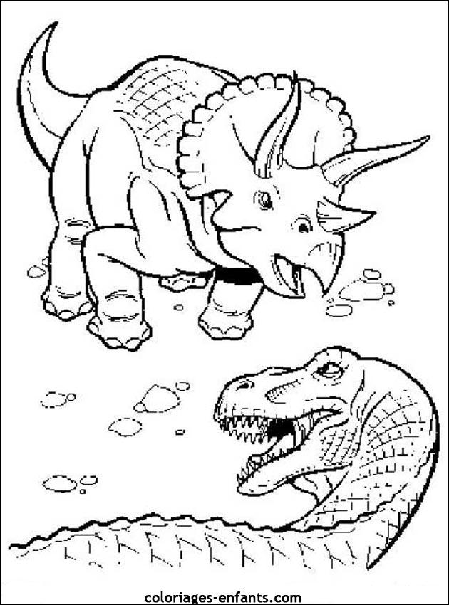 204 dessins de coloriage dinosaure imprimer sur page 13 - Dessin de dinosaure a imprimer ...