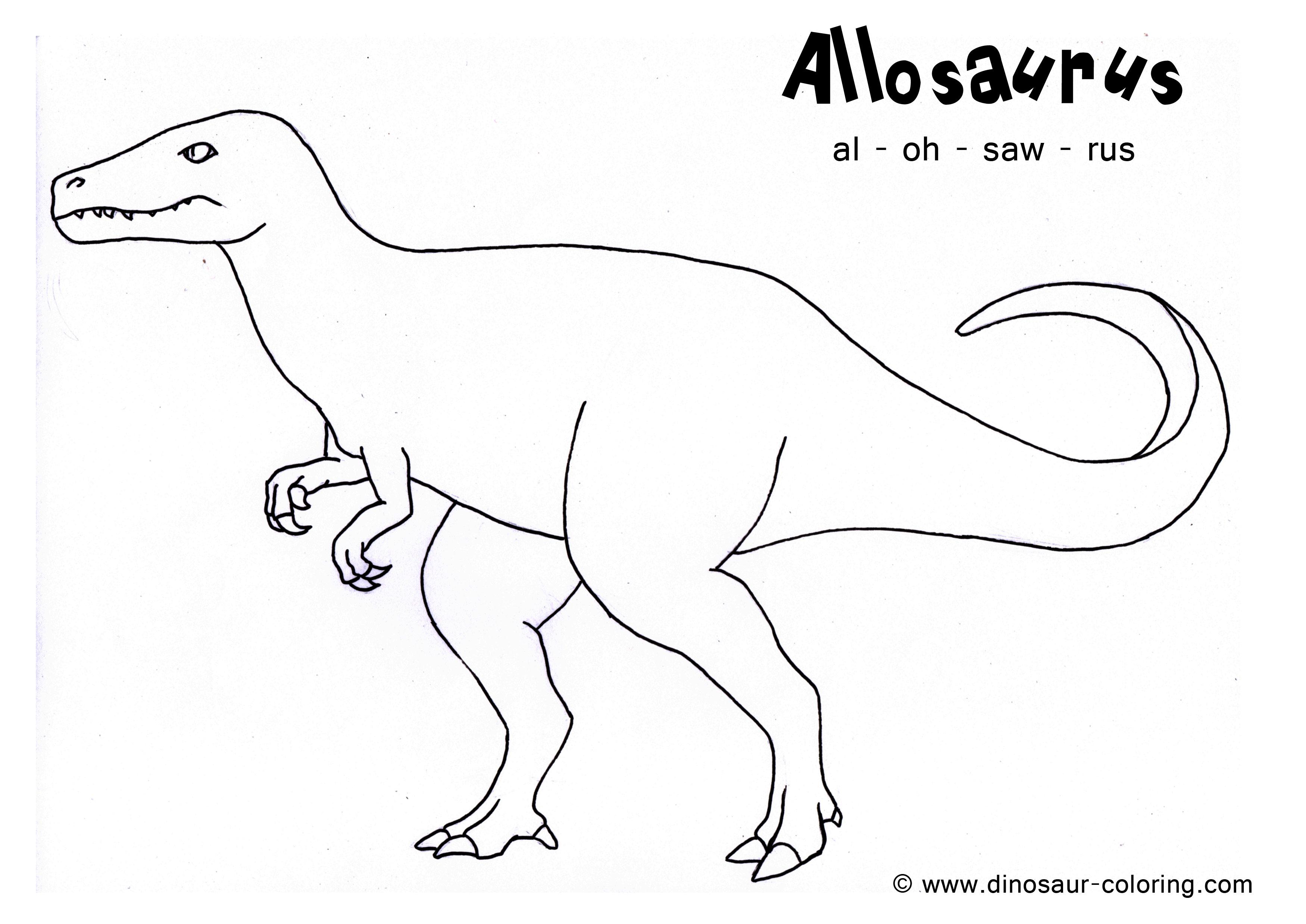 204 Dessins De Coloriage Dinosaure Imprimer Sur LaGuerche