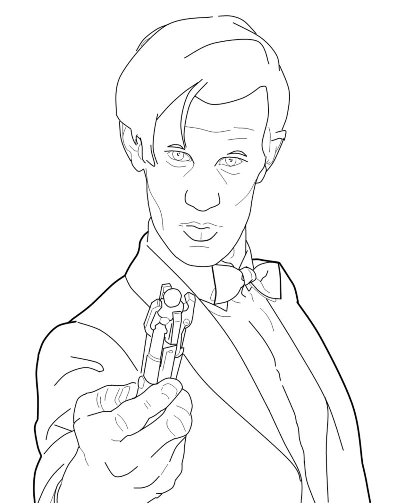 doctor coloring pages free - photo#26