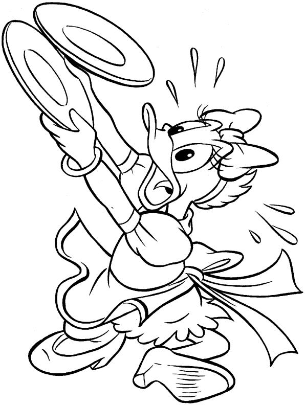 Coloriage donald duck gratuit - dessin a imprimer #133