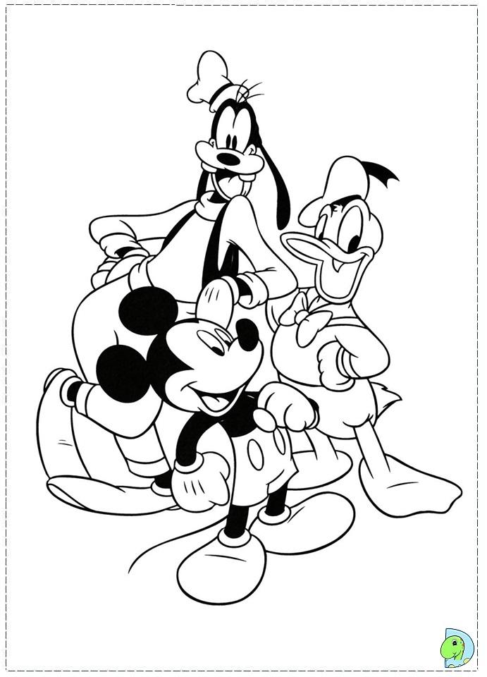 Coloriage donald duck gratuit - dessin a imprimer #149