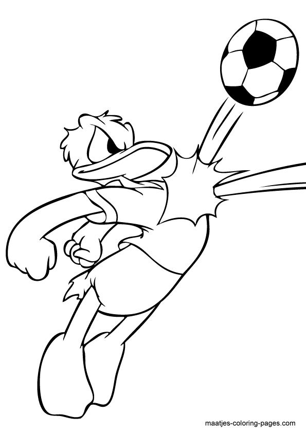 Coloriage donald duck gratuit - dessin a imprimer #221