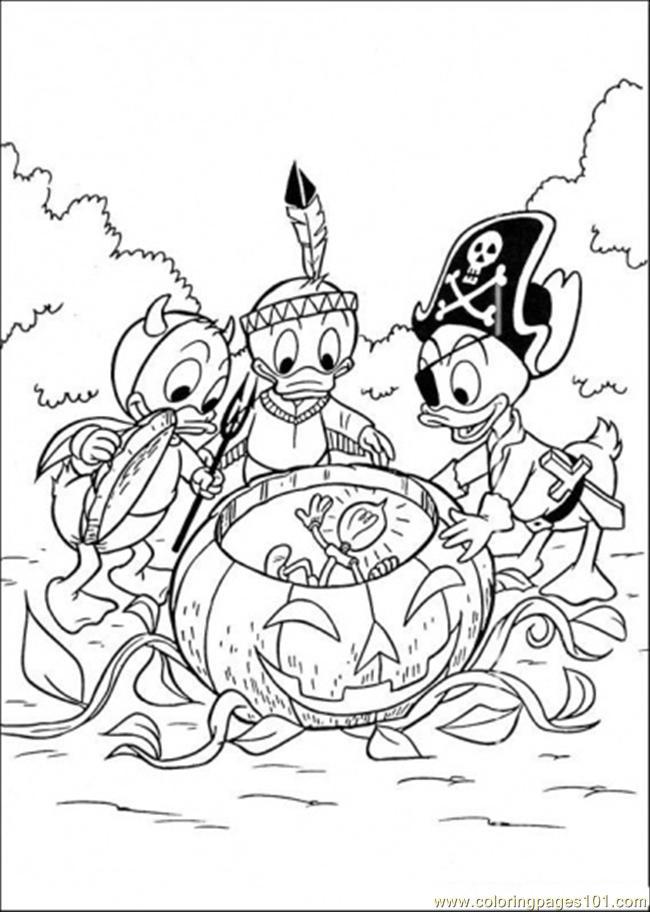 Coloriage donald duck gratuit - dessin a imprimer #246