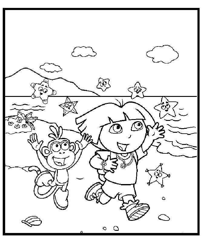 130 dessins de coloriage dora imprimer sur page 14 - Coloriage dora gratuit a imprimer ...