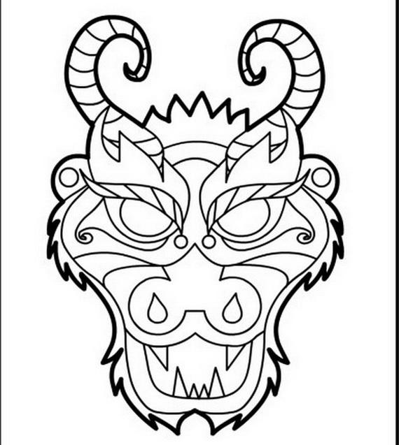 157 dessins de coloriage dragon imprimer sur page 3