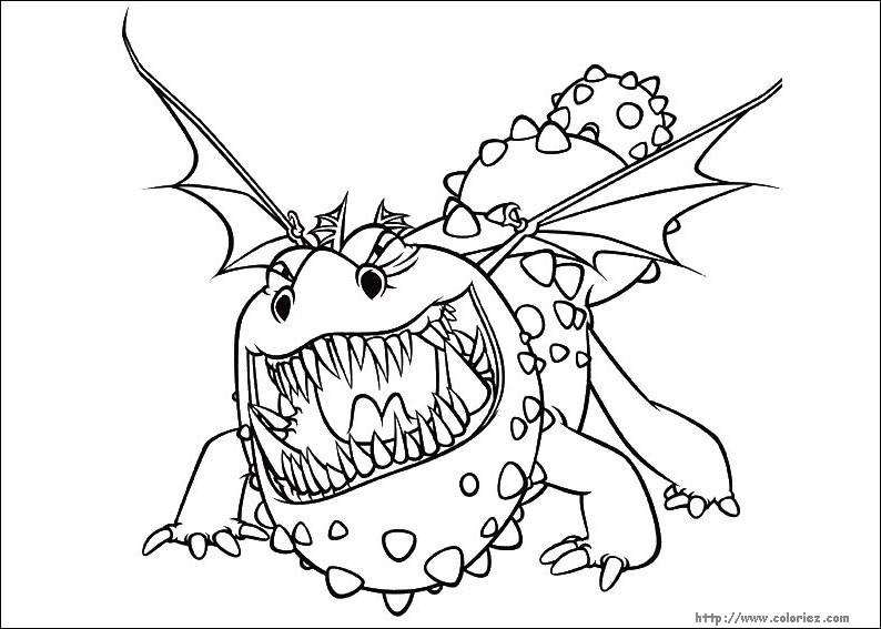 157 Dessins De Coloriage Dragon A Imprimer Sur LaGuerche
