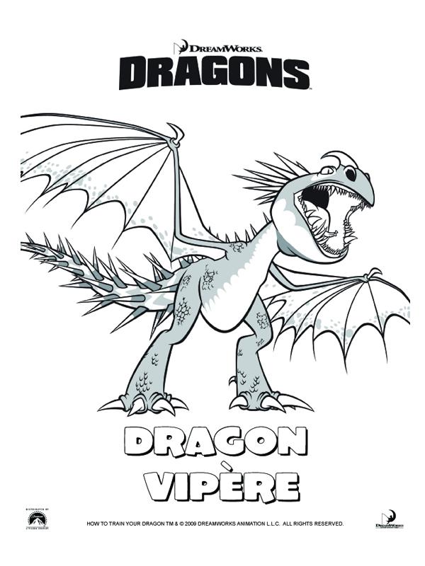 157 dessins de coloriage dragon imprimer sur page 8 - Dessin de dragon a imprimer gratuit ...