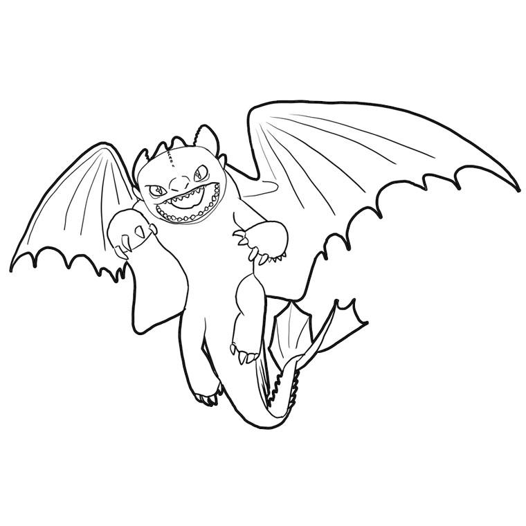 157 dessins de coloriage dragon imprimer sur page 11 - Coloriage dragon 2 ...