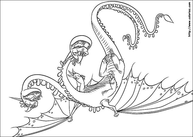 Dragones Feroces Para Colorear: 157 Dessins De Coloriage Dragon à Imprimer Sur LaGuerche