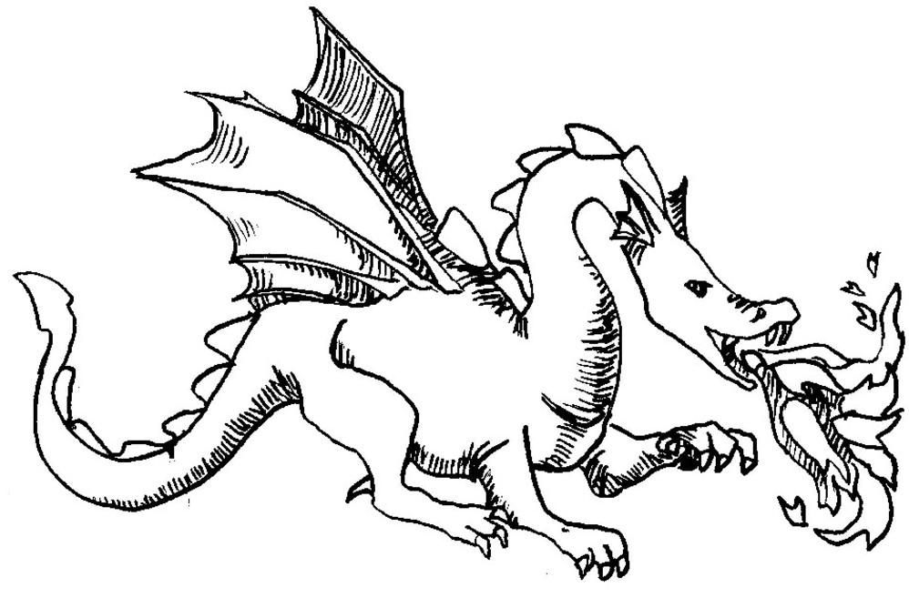 157 dessins de coloriage dragon à imprimer sur LaGuerche ...