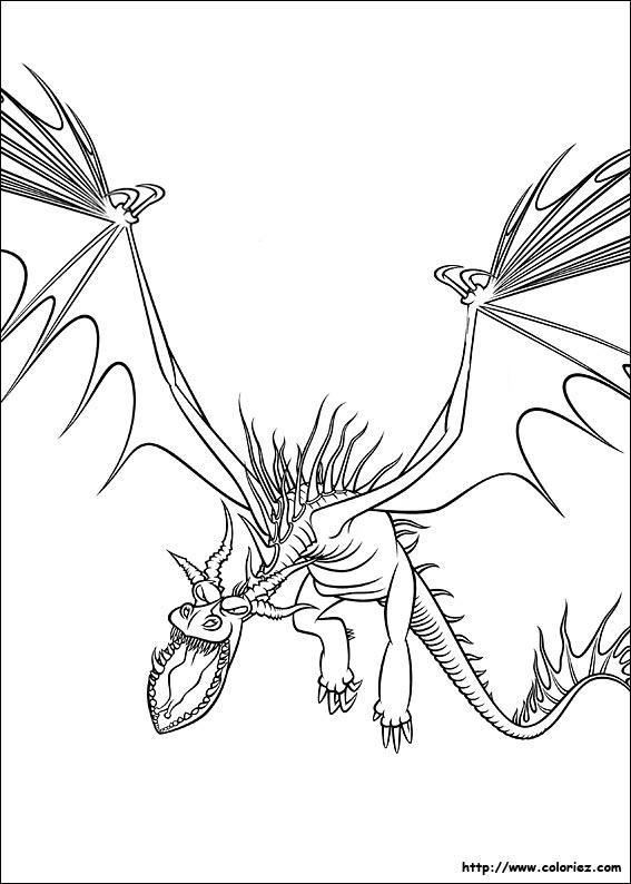 157 dessins de coloriage dragon