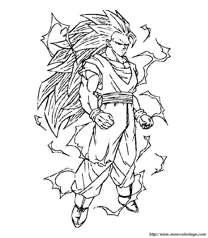 112 dessins de coloriage dragon ball z à imprimer sur laguerche