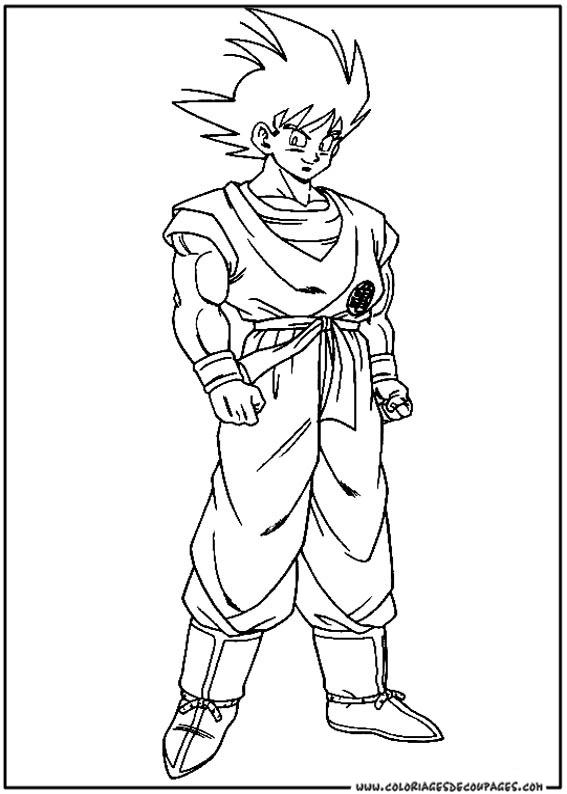 112 Dessins De Coloriage Dragon Ball Z A Imprimer Sur Laguerche Com